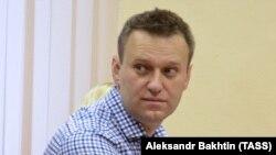 Алексей Навальный на суде в Кирове 1 февраля