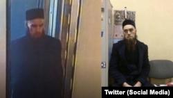 Андрей (Ильяс) Никитин: слева – фото, которое распространили СМИ, называя его предполагаемым террористом, справа – фото в отделении полиции, куда Никитин пришел добровольно, узнав, что СМИ назвали его террористом