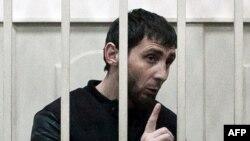 Заур Дадаев в зале суда