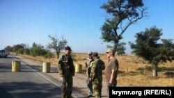 Крымские татары начали блокаду аннексированного Россией Крыма, 20 сентября 2015 года