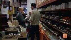 Любители сигар в США рады новостям о потеплении отношений с Кубой