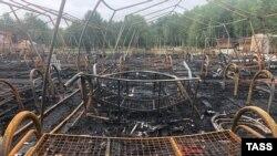 Под Хабаровском сгорел детский лагерь. Четверо детей погибли