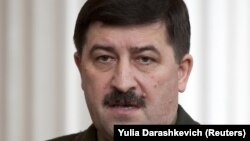 Russian experts said one of the voices on the tape was former Belarusian KGB head Vadzim Zaytsau.