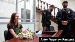 Светлана Прокопьева в суде после приговора