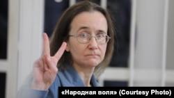 Ольга Калацкая в суде, 23 марта 2020 года