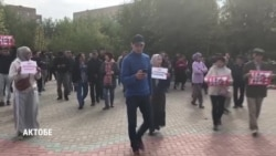 Протесты из-за строительства китайских заводов затронули пять городов Казахстана