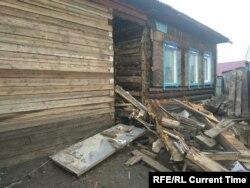 Дом Алексея Башинского после наводнения. Фото: личный архив