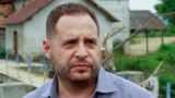 UKRAINE -- Andriy Yermak visits the Trans-Carpathian area in the Velyki Komyaty village, May 27, 2019