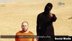 Мохаммад Эмвази в одном из роликов ISIS