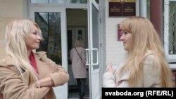 Наталья Глазкова и Оксана Лиходиевская