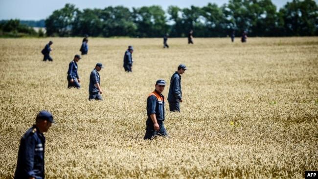 Год катастрофе MH17