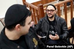 Кирилл Серебренников во время судебного заседания, апрель 2018