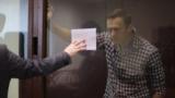Алексей Навальный в Бабушкинском суде. Москва, 20 февраля 2021 года