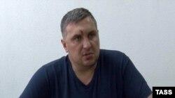 Евгений Панов. Кадр видео допроса сотрудниками ФСБ