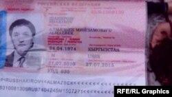 Российский паспорт Анапияева