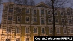 "Building in Moscow Khamovniki district which belongs to ""Alpha"" division of FSB spetznaz"