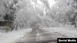 Снегопады в Челябинской области 9-10 мая 2015 года