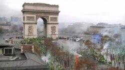 Во Франции введен мораторий на полгода на повышение налогов на топливо