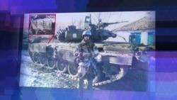 Военнослужащий 6-ой отдельной танковой бригады Евгений Усов получил награду из рук Сергея Шойгу в госпитале после ранения под Дебальцево
