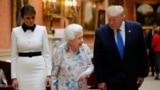 Америка: Трамп в Британии