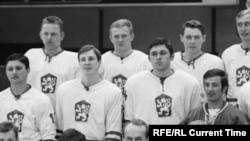 Сборная команда Чехословакии по хоккею, 1969 год. Фото: CTK