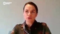 Большое интервью с экс-кандидатом в президенты Беларуси Светланой Тихановской