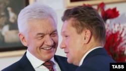 """Геннадий Тимченко и глава """"Газпрома"""" Алексей Миллер"""