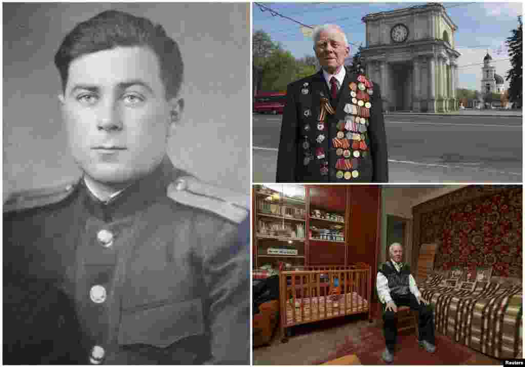 Георгий Парул, 90. Молдавский пехотинец, служил в Красной Армии с декабря 1943 по май 1945. После окончания войны находился в Болгарии