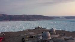 Как меняется покрытая когда-то непроходимыми льдами территория Гренландии