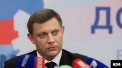 "Глава ""ДНР"" Александр Захарченко"