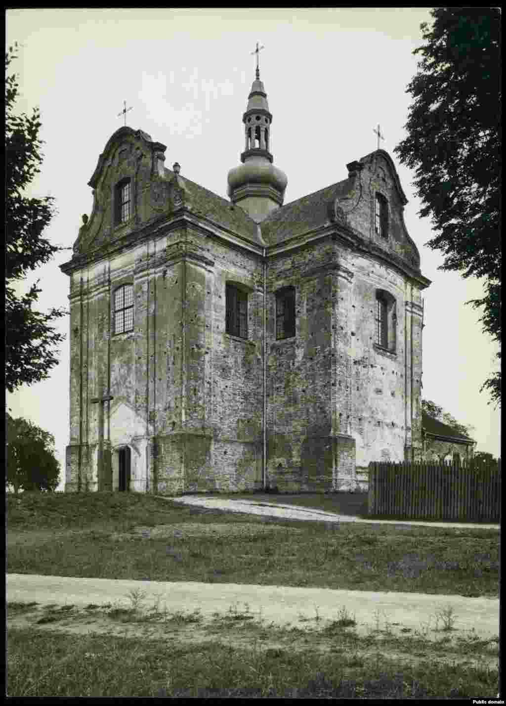 Костел в Городище Пинского района Брестской области