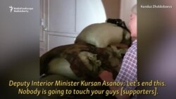 Video Captures Kyrgyz Ex-President's Surrender To Security Forces