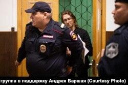Андрей Баршай в Басманном суде