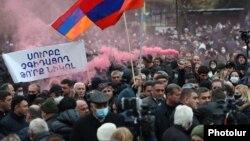 Протесты в Ереване 5 декабря