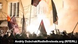 Разгром предполагаемого офиса Медведчука в Киеве. 21 ноября 2016
