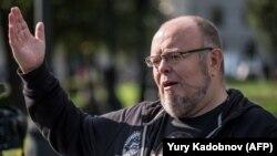 Russian Orthodox activist Andrei Kormukhin (file photo)