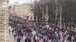 Сотни задержанных в Беларуси в выходные. Среди них — звезды спорта и ТВ