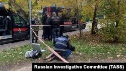 На месте убийства следователя Евгении Шишкиной