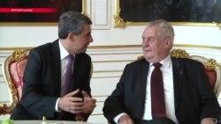 Президент Чехии предложил России выплатить Украине компенсацию за Крым. Обиделись все