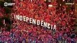 Миллион каталонцев в Барселоне требуют независимости от Испании