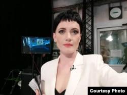 TV host Katerina Pytleva
