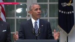 """""""Я дал указания усердно работать для успешной передачи власти избранному президенту"""". Речь Барака Обамы"""