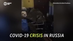 'Bodies Are Everywhere': Russia Struggles With COVID-19 Spike