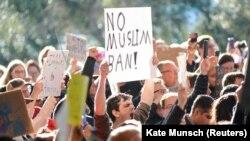 Протесты против указа Трампа о запрете въезда