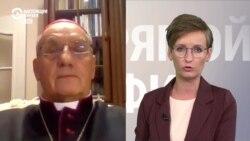 Зачем нужны священники на Окрестина: объясняет архиепископ католической церкви Беларуси