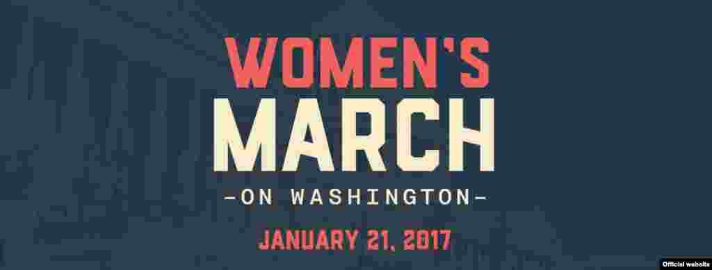 Марш женщин на Вашингтон 21 января 2017