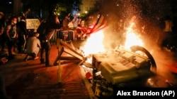 Америка в огне. По всей стране беспорядки после смерти Джорджа Флойда