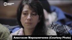 """Анна Печинина. Кадр из фильма """"Дебют"""""""