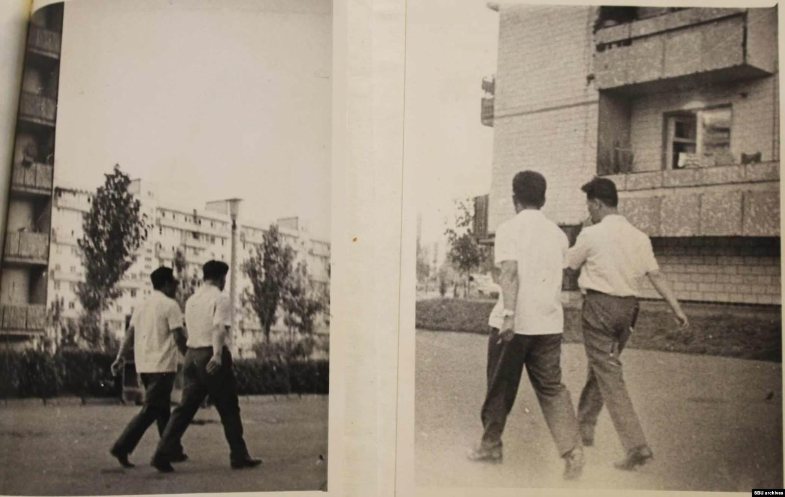 Пак, Хон, Син и Нам во время встреч с Пушкарем. Фото КГБ, сделанные скрытой камерой. Из оперативного дела
