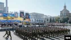 Марш Независимости в Киеве 24 августа